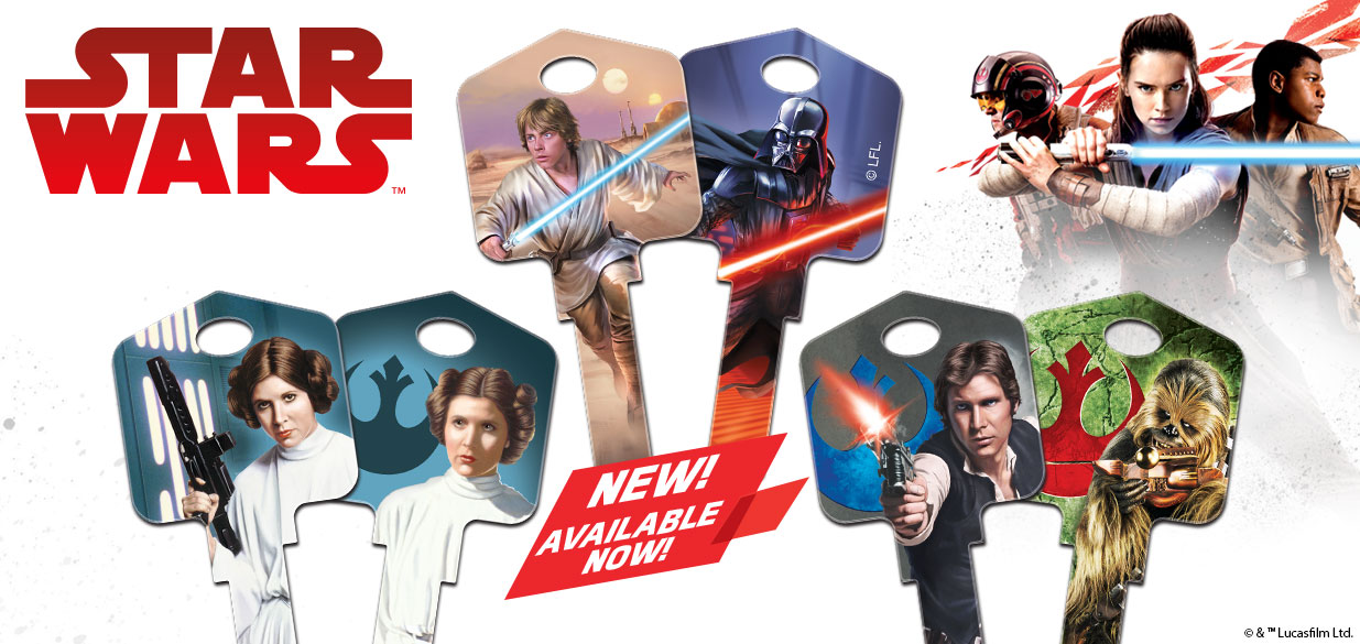 New Star Wars House Keys Available Now!