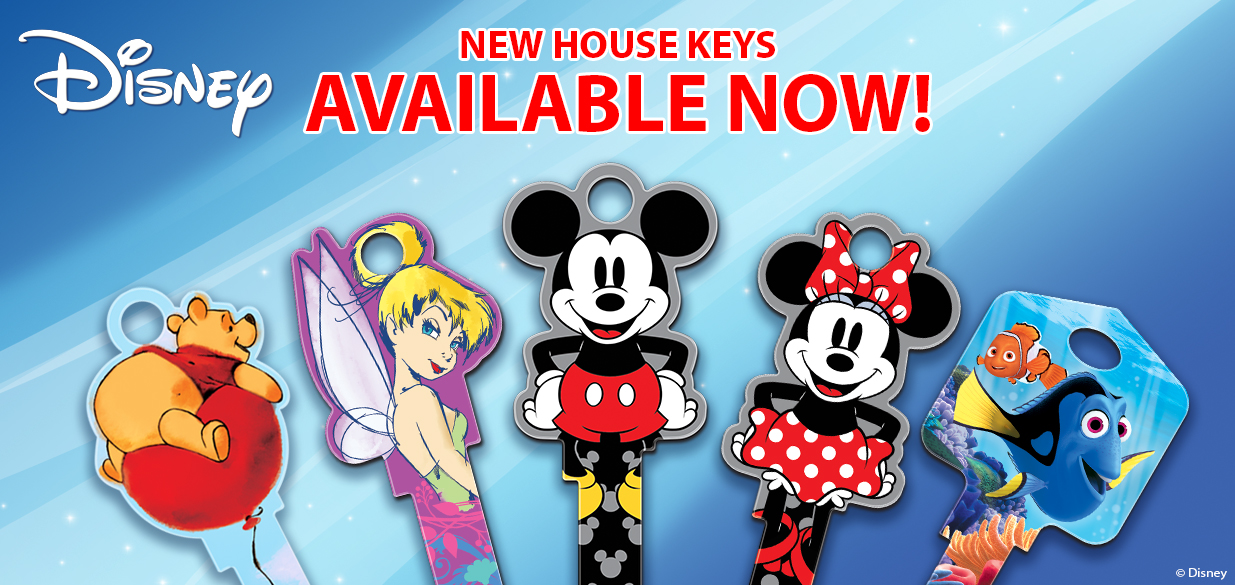 Disney Shaped Keys