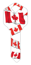HK28 - Canadian Flag